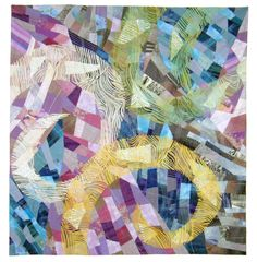 Rose Garden by Takako Ishinami.  2016 Festival of Quilts (UK)