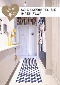 Teppiche von Brita Sweden - So gestalten Sie Flur & Diele