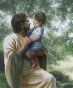 "Matthew 19:14   Jesus said, ""Let the little children come to me, and do not hinder them, for the kingdom of heaven belongs to such as these."""