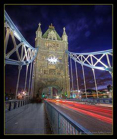 Tower Bridge Light Trails @ Blue Hour