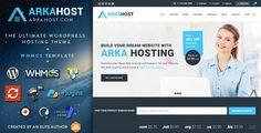 Arka Host v5.0.7  WHMCS Hosting Shop & Corporate Theme