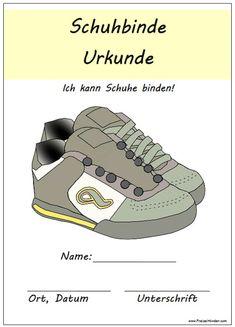 Nachdem ich vor einiger Zeit die Schuhbinde-Urkunde vom Löwenmädchen gezeigt habe, die sie stolz in der Kita erhalten hat, erreichten mich viele Anfragen zu einer Vorlage. Also habe ich fix eine fü…