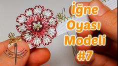 Needle Lace Tutorial #7 DIY HD Quality