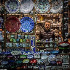 Today the Grand Bazaar is a thriving complex, employing 26,000 people visited by between 250,000 and 400,000 visitors daily, and one of the major landmarks of Istanbul. It must compete with modern shopping malls common in Istanbul, but its beauty and fascination represent a formidable advantage for it. The head of the Grand Bazaar Artisans Association claimed that the complex was in 2011 - the year of its 550th birthday - the most visited monument in the world. A restoration project starting…