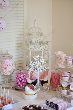 Pink Little Bird themed party