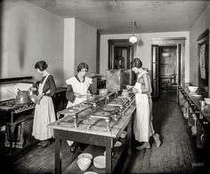 Shorpy Historic Picture Archive :: The Culinary Arts: 1920 high-resolution photo Vintage Photographs, Vintage Photos, Looking Out The Window, High Resolution Photos, Working Woman, George Washington, Buy Prints, Culinary Arts, Washing Clothes