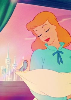- Cinderella - my childhood Disney princess, only wanted a night off and a new dress!