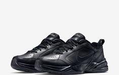 3cc511b1031f24 Nike Air Monarch IV Black Navy Men s Cross-TRAINING SHOES (BEST PRICE)