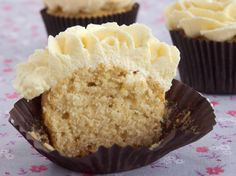 Cupcakes sin Azúcar Sugar Free Cupcakes, Yummy Cupcakes, Cupcake Cakes, Sugar Free Recipes, Cupcake Recipes, Dessert Recipes, Healthy Desserts, Easy Desserts, Healthy Food