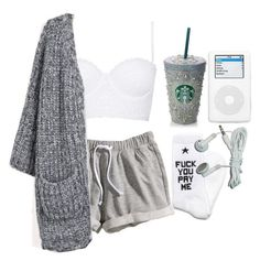"""Bored time."" by fuckedchanel ❤ liked on Polyvore featuring H&M, Topshop and SSUR"