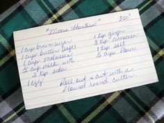 Fat Archies cookie recipe  Cape Breton COOKIES Moose Recipes, Old Recipes, Recipies, Cooking Recipes, Molasses Cookies, Cape Breton, Food And Drink, Favorite Recipes, Fat