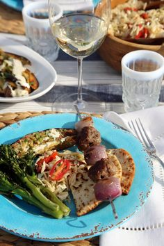 Pin for Later: A Mediterranean Cookout That Will Make You Want to Cry Happy Food Tears