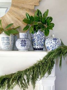 Nature Inspired Holiday Decor...