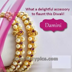 Traditional Pearl bangles heritage jewellery collection - Latest Jewellery Designs