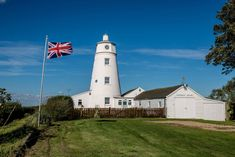Bright spot: historic lighthouse once lived in by the 'patron saint' of conservation for sale in Lincolnshire wilderness Conservation Movement, Unusual Buildings, Small Corner, Unusual Homes, Water Tower, Patron Saints, Medieval Castle, Windmill, Wilderness