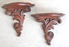 A Pair of Mid Century Decorative Syroco Wood por leapinglemming, $25.95