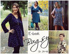 ♥Bugsy♥Boho-Kleid mit Tunnelzug♥Gr. 34-46♥Ethno Style  Dieses E-Book beinhaltet Schnitt und Anleitung für das Kleid Bugsy.   Ethno-Muster, Hippiestyle .. ja, der Boho-Look ist aktuell der...