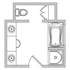 Find This Pin And More On Bathroom Ideas Cool Floor Plan