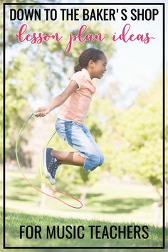 A fun lesson idea for a song using jump ropes. Lots of suggestions for using it with multiple grade levels. Plus, ideas for alternative movements in case you don't have access to jump ropes.