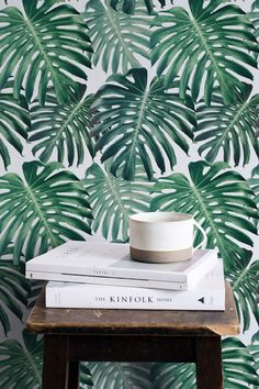 30% OFF from Large monstera leaves pattern removable