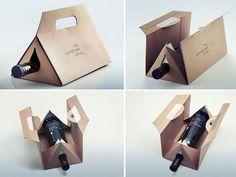 10 innovadores estuches de cartón para vino – The Big Wine Theory