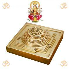 Meru Shree Yantra In Heavy Solid Brass