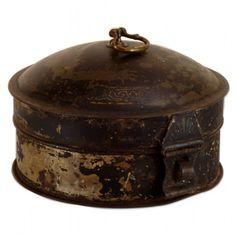 Rare Vintage Spice Tins | Rare Antique Spice Tin complete with Nutmeg Grater and Original Spices