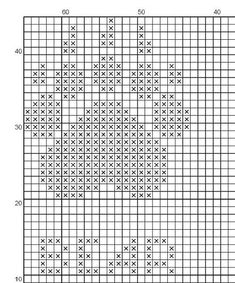 Drops Patterns, Loom Patterns, Chunky Knitting Patterns, Knitting Designs, Cross Stitch Designs, Cross Stitch Patterns, Cross Stitching, Cross Stitch Embroidery, Chicken Pattern