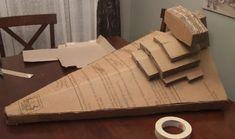 Cardboard Star Destroyer