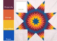 Lone Star Quilt Pattern, Star Quilt Patterns, Star Quilts, Quilting Ideas, Quilt Blocks, Star Blanket, Quilting For Beginners, Native American Beading, Sioux