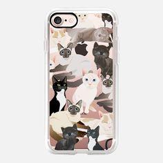 Cats ( cat pattern ) - Classic Grip Case