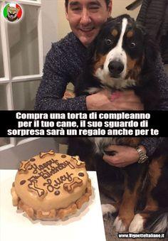 vignetta cane compleanno