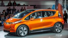 Chevy Bolt...  not drool worthy exactly, but one to watch