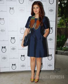 Twinkle Khanna at her own exhibition. #Bollywood #Fashion #Style #Beauty
