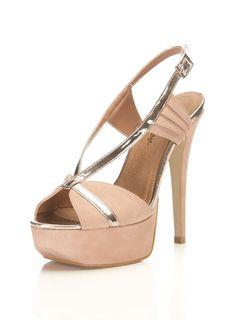 Pink High Sandal