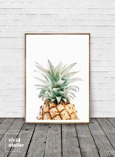 Pineapple Print, Pineapple Wall Art, Watercolor Pineapple, Best Selling Items, Printable Pineapple, Tropical Print, Pineapple, Pineapple Art by VividAtelier on Etsy https://www.etsy.com/no-en/listing/398683111/pineapple-print-pineapple-wall-art