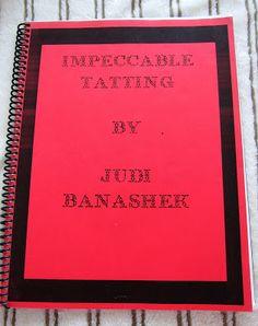 """Impeccable Tatting"" book by Judi Banashek"