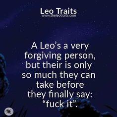 A leos a very...