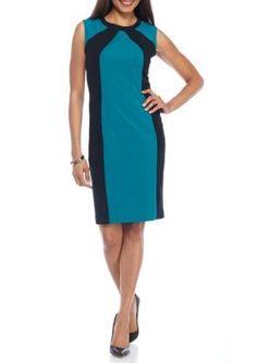 Nine West JadeBlack Colorblock Dress