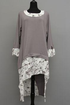 Extra Haute - Escaladya Jersey Floral Print Asymmetrical Dress, $169.50 (http://www.extrahaute.com/jersey-floral-print-asymmetrical-dress/)