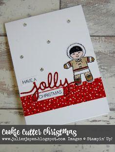 Cookie Cutter Christmas, Julie Kettlewell - Stampin Up UK Independent Demonstrator - Order products 24/7: Jems Blog Hop for September