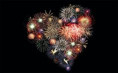 Resultado de imagem para feu d artifice coeur Heart In Nature, Heart Art, Fire Works, I Love Heart, Independence Day, Fourth Of July, July 7, Happy New Year, Heart Shapes
