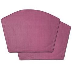 Burgundy Restaurant Quality Heavyweight Wedge Table Placemats