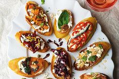 13 recipes for canapes on toast
