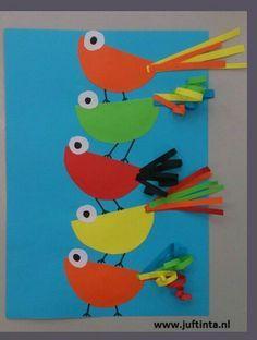 OkulÖncesi Daireden Kuş Yapımı
