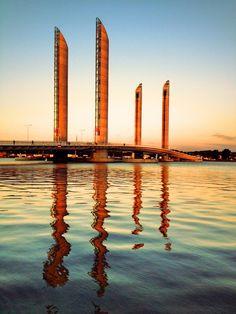 Pont Chaban Delmas / Bordeaux
