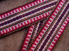 Guitar Strap Woven by Hand,  Comfortable Cotton, Made to Last