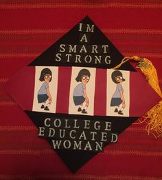 Struggling to figure out how to decorate a graduation cap? Get some inspiration from one of these clever DIY graduation cap ideas in These high school and college graduation cap decorations won't disappoint! Funny Graduation Caps, Graduation Cap Designs, Graduation Cap Decoration, Nursing Graduation, Graduation Diy, High School Graduation, Funny Grad Cap Ideas, Tumblr, Grad Hat