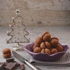 Schokoladenbällchen Kakao, Baking Biscuits, Play Dough, Cooking Recipes, Essen