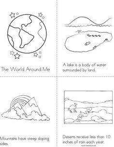 1000 images about landforms on pinterest social studies for Landforms coloring pages